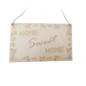 "Wandschild ""Home Sweet Home"""